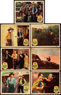"Movie Posters:Western, The Desert Trail (Monogram, 1935). Lobby Cards (7) (11"" X 14"").. ... (Total: 7 Items)"