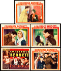 "Movie Posters:Drama, Born to Love (RKO, 1931). Title Lobby Card and Lobby Cards (4) (11""X 14"").. ... (Total: 5 Items)"