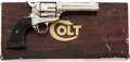 Handguns:Single Action Revolver, Boxed and Factory Engraved Colt Single Action Army Revolver....