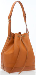 Luxury Accessories:Bags, Louis Vuitton Mandarine Epi Leather Noe GM Bucket Bag. ...