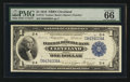 Large Size:Federal Reserve Bank Notes, Fr. 718 $1 1918 Federal Reserve Bank Note PMG Gem Uncirculated 66 EPQ.. ...