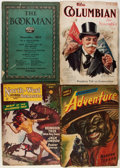 Pulps:Adventure, Assorted Books, Pulps, and Magazines Group (Various, 1894-1958).... (Total: 25 Items)