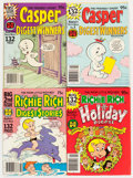 Bronze Age (1970-1979):Cartoon Character, Harvey Casper and Richie Rich Related Comics Digest File Copy LongBox Group (Harvey, 1970s) Condition: Average NM-....