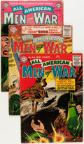Golden Age (1938-1955):War, All-American Men of War Group (DC, 1953-57) Condition: AverageGD/VG.... (Total: 10 Comic Books)