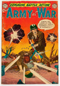 Golden Age (1938-1955):War, Our Army at War #1 (DC, 1952) Condition: GD+....