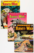 Golden Age (1938-1955):War, Our Army at War #6, 8, and 9 Group (DC, 1953) Condition: AverageFN-.... (Total: 3 Comic Books)