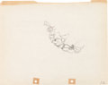 Animation Art:Production Drawing, Two Gun Mickey Mickey Mouse Production Drawing Animation Art(Walt Disney, 1934)....