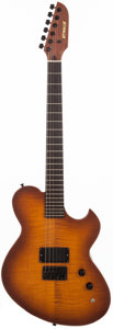 Musical Instruments:Electric Guitars, 1979 Newman Sunburst Solid Body Electric Guitar, #N/A....