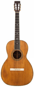 Musical Instruments:Acoustic Guitars, 1905 Martin 00-42 Natural Acoustic Guitar, #10004....