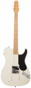 Musical Instruments:Electric Guitars, 2010 Fender Custom Shop Snakehead Telecaster White Solid BodyElectric Guitar, #SH63. ...
