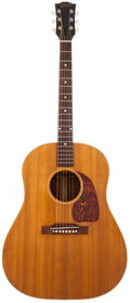Musical Instruments:Acoustic Guitars, 1951 Gibson J-50 Natural Acoustic Guitar, #8744-14....