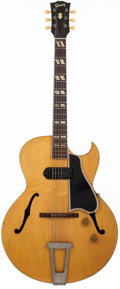 Musical Instruments:Electric Guitars, 1954 Gibson ES-175 Blonde Semi-Hollow Body Electric Guitar, #A13695....