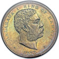 Coins of Hawaii, 1883 $1 Hawaii Dollar MS64 NGC. CAC....
