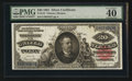 Large Size:Silver Certificates, Fr. 318 $20 1891 Silver Certificate PMG Extremely Fine 40 EPQ.. ...