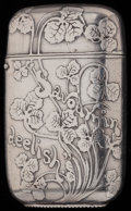 Silver Smalls:Match Safes, A TIFFANY & CO. SILVER AND SILVER GILT MATCH SAFE, New York,New York, circa 1884-1885. Marks: TIFFANY & CO., STERLING,6,...