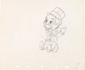 Animation Art:Production Drawing, Mother Goose Goes Hollywood Charlie McCarthy Production Drawing Animation Art (Walt Disney, 1938)....