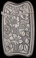 Silver Smalls:Match Safes, A GORHAM SILVER AND SILVER GILT MATCH SAFE, Providence, RhodeIsland, circa 1893. Marks: (lion-anchor-G), STERLING, 945,...