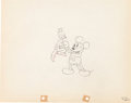 Animation Art:Production Drawing, Mickey's Kangaroo Mickey Mouse Production Drawing AnimationArt (Walt Disney, 1935)....