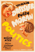 "Movie Posters:Comedy, Politics (MGM, 1931). One Sheet (27"" X 41"").. ..."