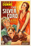 "Movie Posters:Drama, The Silver Cord (RKO, 1933). One Sheet (25.5"" X 41""). Drama.. ..."