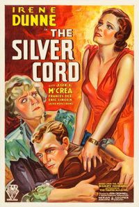 "The Silver Cord (RKO, 1933). One Sheet (25.5"" X 41""). Drama"
