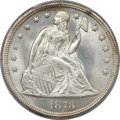 Seated Dollars, 1873 $1 MS65 PCGS....