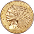 Indian Half Eagles, 1929 $5 MS63 PCGS....