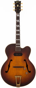 Musical Instruments:Electric Guitars, 1947 Gibson ES-350 Sunburst Acoustic Electric Guitar, #N/A....