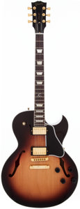 Musical Instruments:Electric Guitars, 2011 Gibson ES-137C Sunburst Semi-Hollow Body Electric Guitar,#11381710. ...