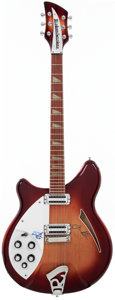 Musical Instruments:Electric Guitars, 1993 Rickenbacker 360 Fireglo Left-Handed Solid Body ElectricGuitar, #E67875....