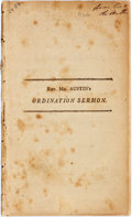 Books:Religion & Theology, Samuel Austin. THE NATURE, EXTENT, AND IMPORTANCE, OF THE DUTY, BINDING ON THE CHRISTIAN MINISTER, DIVINELY COMMISSI...