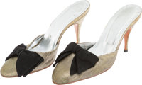 "A Goldie Hawn Pair of Mules from ""Overboard."""