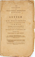 Books:Religion & Theology, Samuel Blatchford. THE VALIDITY OF PRESBYTERIAN ORDINATION MAINTAINED, IN A LETTER TO THE REV. WILLIAM SMITH, D.D......