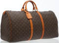 Luxury Accessories:Travel/Trunks, Louis Vuitton Classic Monogram Canvas Keepall 60 Weekend Bag. ...