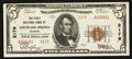 National Bank Notes:Colorado, Colorado Springs, CO - $5 1929 Ty. 2 The First NB Ch. # 2179. ...