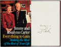 Books:Americana & American History, Jimmy and Rosalyn Carter. SIGNED. Making the Most of the Rest ofYour Life. New York; Random House, [1987]. First ed...