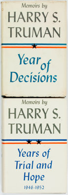 Harry S. Truman. Year of Decisions, Vol. 1 [together with:] Years of Trial and Hope, Vol