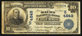 National Bank Notes:Tennessee, Columbia, TN - $10 1902 Date Back Fr. 621 The Maury NB Ch. #(S)4849. ...