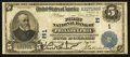 National Bank Notes:Pennsylvania, Philadelphia, PA - $5 1902 Date Back Fr. 590 The First NB Ch. #(E)1. ...