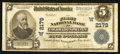 National Bank Notes:Colorado, Colorado Springs, CO - $5 1902 Plain Back Fr. 605 The First NB Ch.# (W)2179. ...