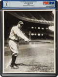 Baseball Collectibles:Photos, 1929 Lou Gehrig Original News Photograph, PSA/DNA Type 1....