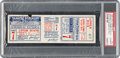 Baseball Collectibles:Tickets, 1926 World Series Game Seven Full Ticket, PSA Authentic....