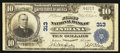 National Bank Notes:Pennsylvania, Indiana, PA - $10 1902 Plain Back Fr. 624 The First NB Ch. # 313. ...