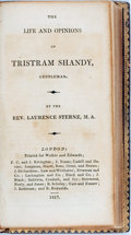 Books:Literature Pre-1900, Lawrence Sterne. The Life and Opinions of Tristram Shandy,Gentleman. London: Walker and Edwards, 1817. Later pr...