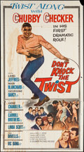 "Movie Posters:Rock and Roll, Don't Knock the Twist (Columbia, 1962). Three Sheet (41"" X 79"").Rock and Roll.. ..."