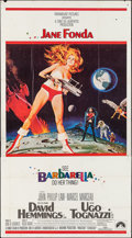 "Movie Posters:Science Fiction, Barbarella (Paramount, 1968). Three Sheet (41"" X 79""). ScienceFiction.. ..."