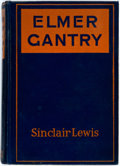 Books:Literature 1900-up, Sinclair Lewis. Elmer Gantry. New York: Harcourt, Brace andCompany, 1927. First edition, possible first issue b...