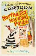 "Movie Posters:Animation, Northwest Hounded Police (MGM, 1946). Tex Avery One Sheet (27.25"" X 41"").. ..."