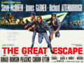 "Movie Posters:War, The Great Escape (United Artists, 1963). British Quad (30"" X 40"")....."