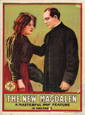 "Movie Posters:Drama, The New Magdalen (Imp, 1912). British One Sheet (30"" X 40"").. ..."